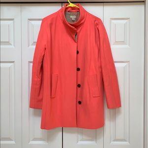 J crew coat size 10